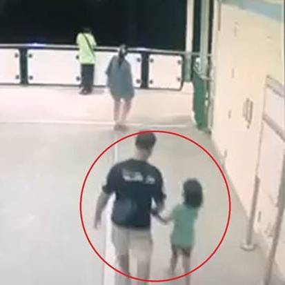 CCTV shows girl, six, being led away before she is raped and murdered in Thailand