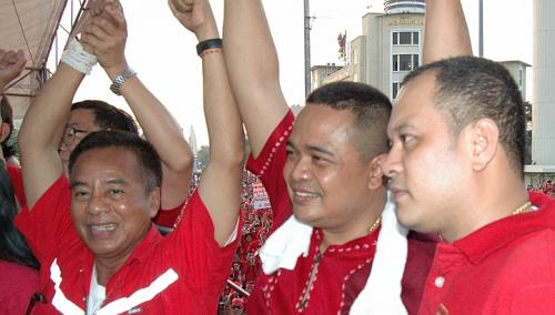New Thai Red Shirts Leader, Vows to Fight for Democracy