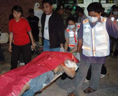 64 Year Old Canadian Ramond Mark Campbell Jumps to His Death at Suvarnabhumi Airport