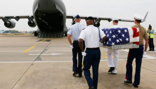 Remains of US Soldiers from the Vietnam War Repatriated from Cambodia