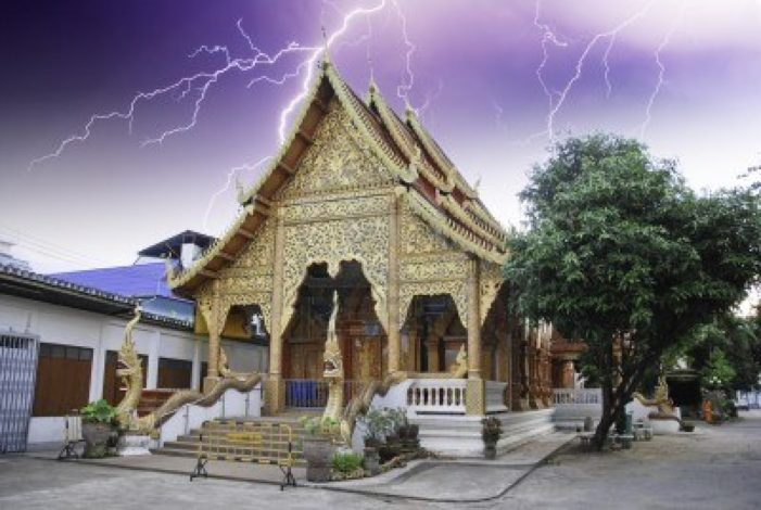 Warning of Heavy Storms and Hail issued for Northern Thailand
