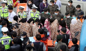 325 high school students, 15 school teachers and 89 non-student passengers were aboard the ship