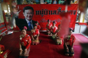 The Red Shirts' core of support is in northern Thailand