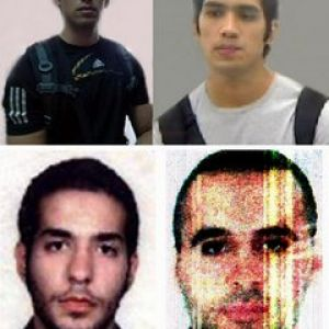 Youssef Ayad, top photos, Daoud Farhat, bottom left, and Bilal Bahsoun, bottom right. Photo by Photos from Stop910.com