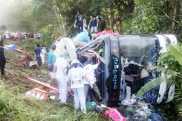 """Death Toll Rises to 102 on Second Day of Songkrans """"Seven Dangerous Days"""""""