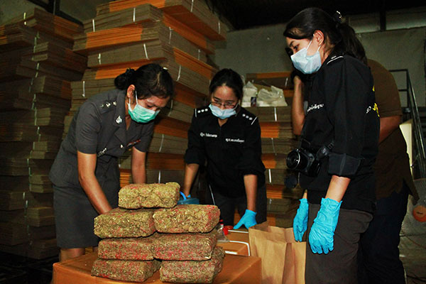 Thai Police Seize 5.6 Tons of Marijuana Destined for Netherlands – [Video]