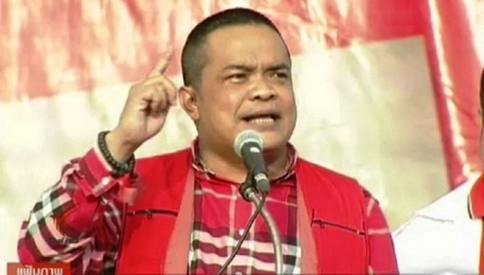 "Red Shirt Leader Jatuporn Promphan Say's Rally on April 5th just a ""Final Exercise Before the Big War"""