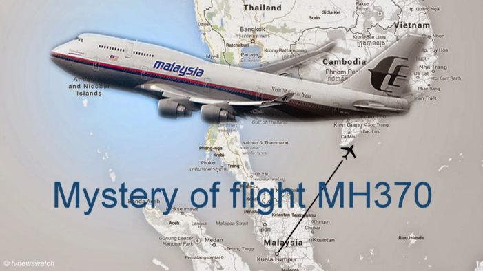 American Pilot Claims MH370 Wreckage Found West of Songkhla, Thailand
