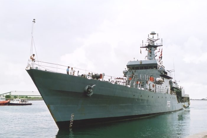 Indian Navy Visits Phuket Thailand for Professional Exchange Program