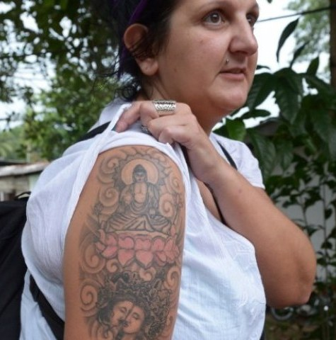 British Woman Deported from Sri Lanka Over Buddha Tattoo