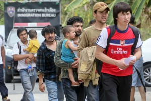 Thailand on March 15 sentenced dozens of asylum seekers thought to be from China's Uighur minority for illegal entry,