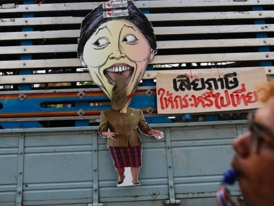 Sexism in Thailand and the Campaign against Yingluck Shinawatra