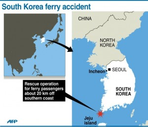 Hundreds of ferries ply the waters between the South Korean mainland and its multiple offshore islands every day, and accidents are relatively rare