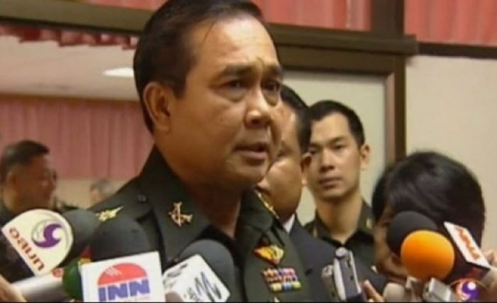 Thailand's Army Chief Orders Censorship of the Media