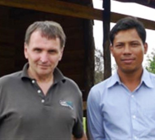 Canadian journalist Dave Walker (Left), who went missing in Cambodia in February
