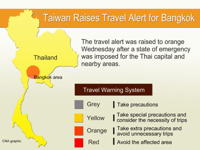 50 Countries Issue Travel Advisories about Visiting Thailand