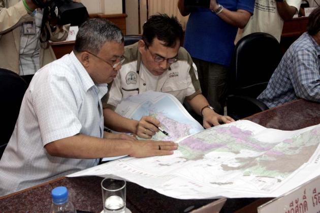 The Mineral Resources Department is analysing the Nakhon Nayok Fault to determine if it is active