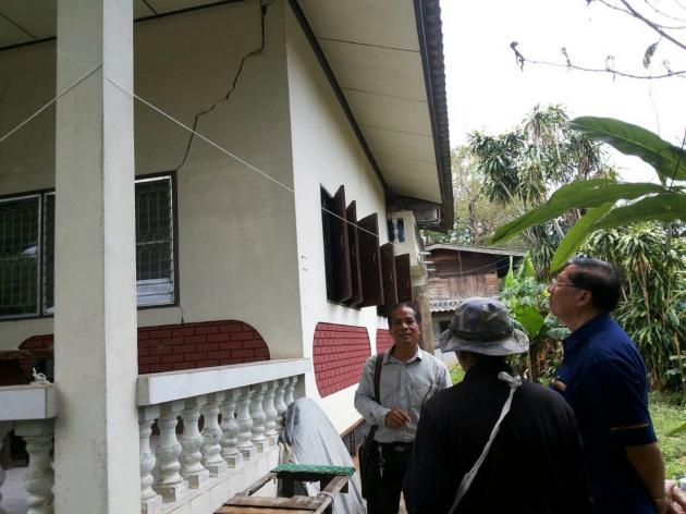 Earth Quake After Shocks Rattle Chiang Rai Villages