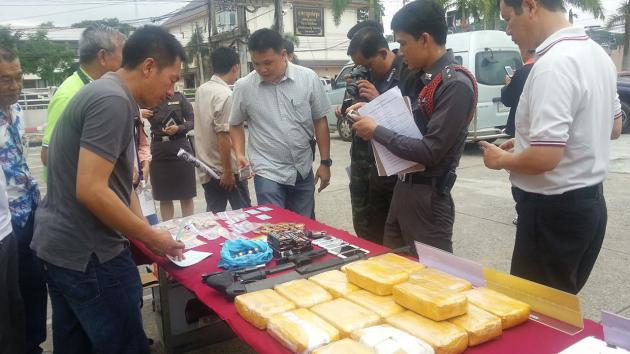 Four Big Drug Busts in Chiang Rai Province