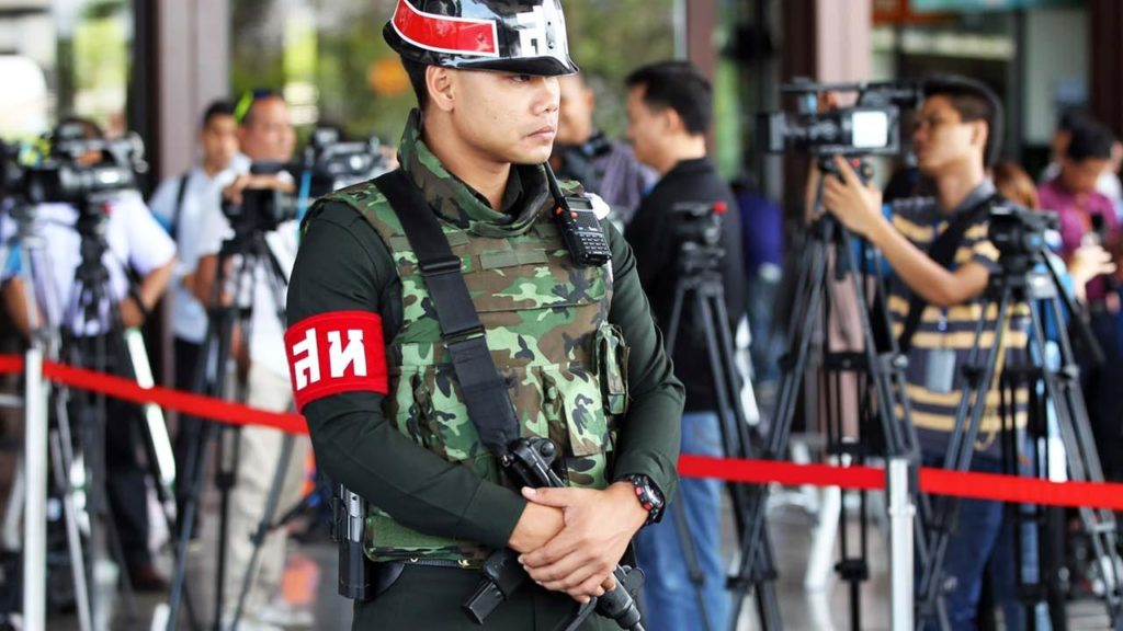 Thailand's army declares martial law, denies coup