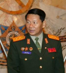 Laotian Defense Minister, Douangchay Phichit