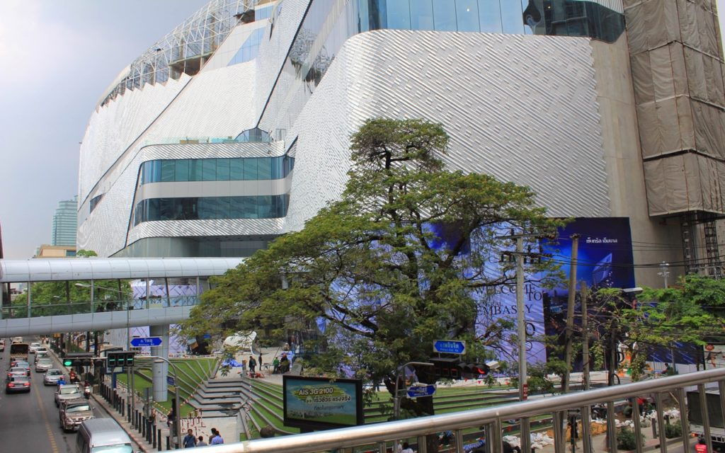Central Embassy a 1.8-billion-baht ($554 million) project in the heart of Bangkok's commercial district.