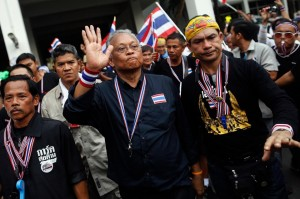 "PDRC's top leader, Suthep Thaugsuban, publicly warned them that a ""mistake"" like that would not be tolerated again"