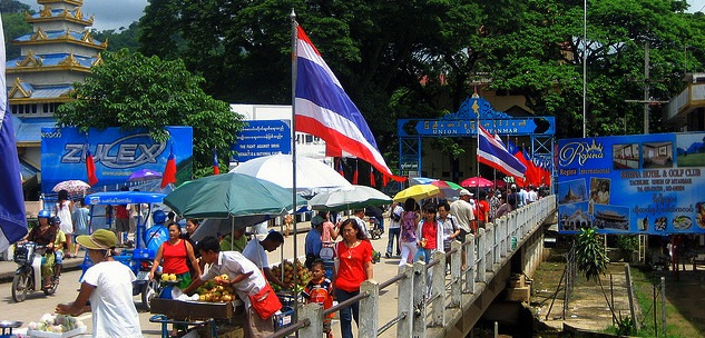 Trade on the Rise along Myanmar's Busy Thai Borders