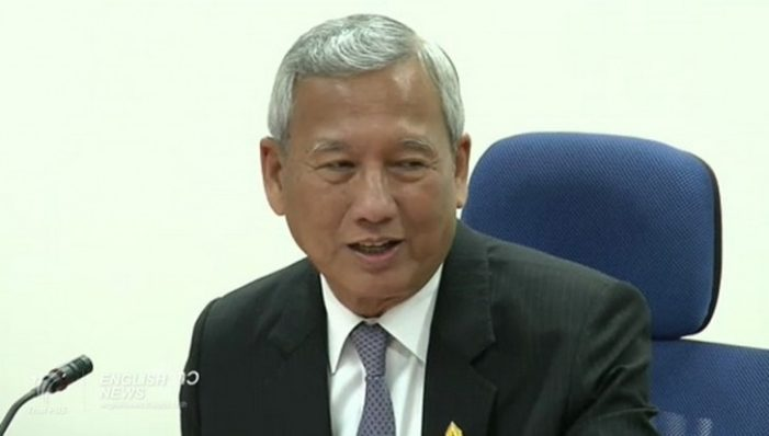 Niwatthamrong Bunsongphaisarn Appointed Acting Prime Minister