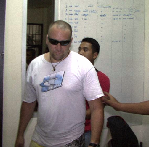 Briton Mark Kerby Arrested in Koh Samui for Family Mart Robbery