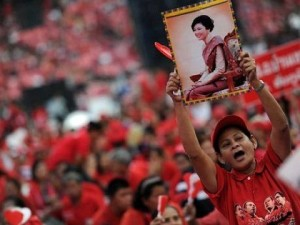 Thai Red Shirts Vow 'Final Fight' to Defend Yingluck.