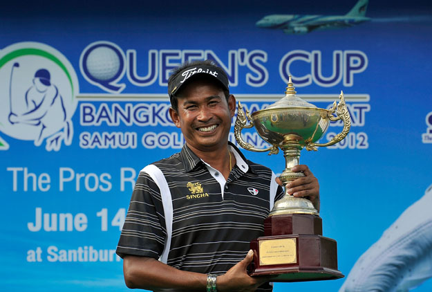 Wiratchant Erases Big Deficit to Win Thailand's Queen's Cup
