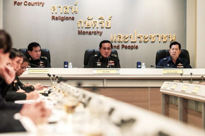 Thailand's Military Junta Flexes Its Muscles with Internet