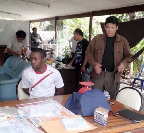 Nigerian Busted in Chon Buri for Cocaine Mail Scam