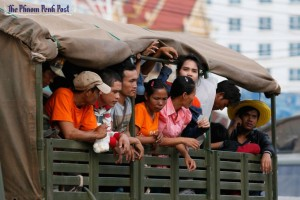 Cambodian workers have been flooding across the border from Thailand