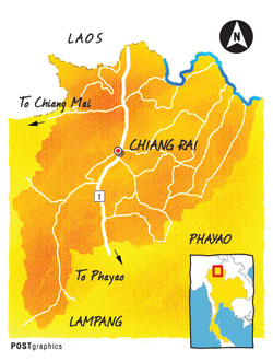 Travel Info - Chiang Rai is the northernmost province of Thailand, located some 785km from Bangkok. Several low-cost airlines operate regular flights between Bangkok and Chiang Rai. - The Tourism Authority of Thailand's local office provides plenty of information on things to see and do here. Call 053-717-433.