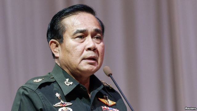 Thai Army Chief General Prayuth Chan-ocha Warns Media to Behave