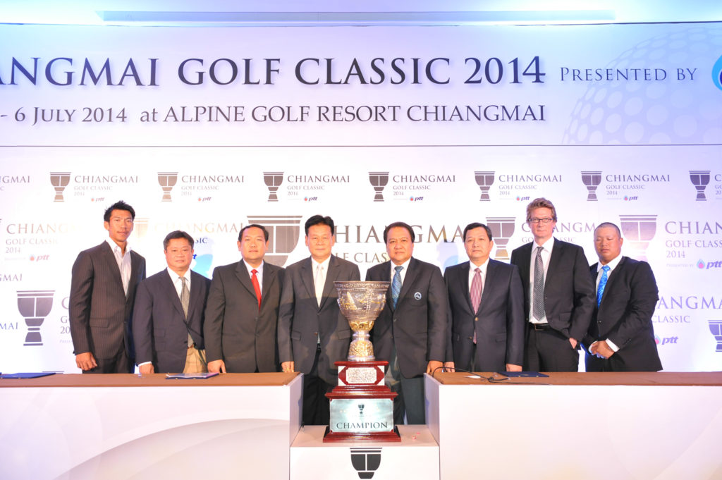 Last year's inaugural Chiangmai Classic, won by Australia's Scott Hend, also featured an appearance by four-time major winner Ernie Els of South Africa who tied for 14th place.