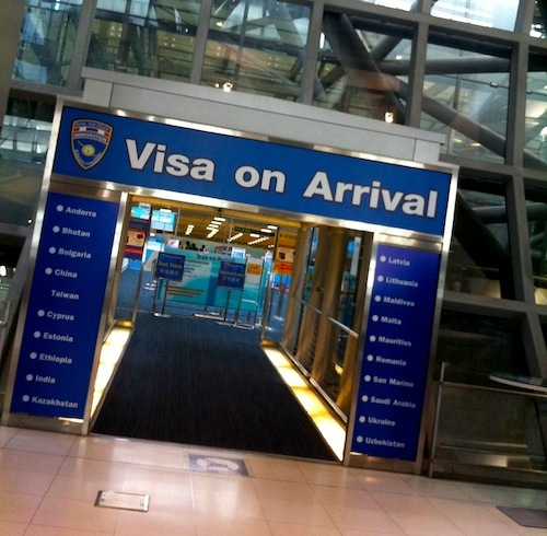 Immigration commissioner Pol Lt-Gen Panu Kerdlarpphol explained that the reason for reconsideration was that the 17 countries still charge visa fees on Thai nationals.