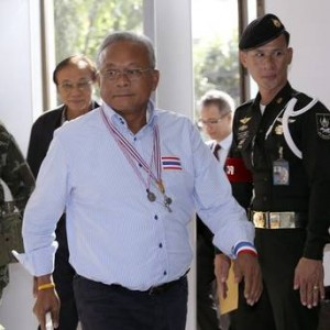 """According to Mr. Suthep, Gen. Prayuth told him before the coup that """"it's now the duty of the army to take over the task."""" The military has denied this."""
