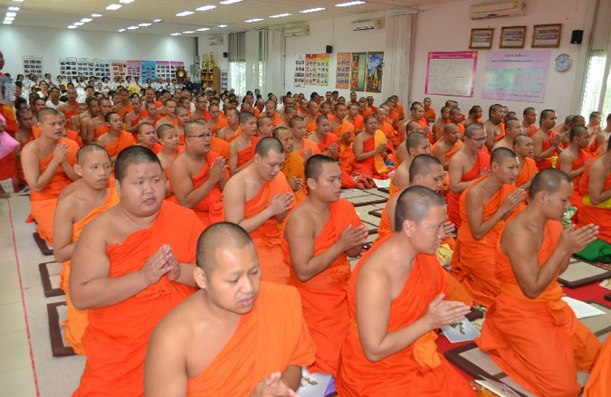 Chiang Rai Monks Try To Thwart Earthquake with Mass Prayer