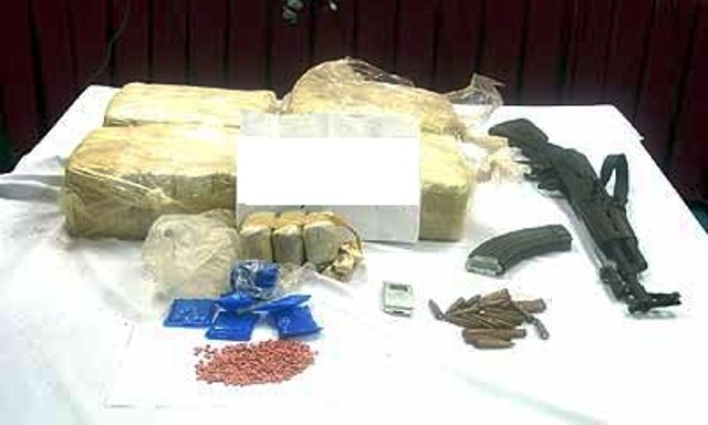 Weapons Seized During Series of Raids in Chiang Rai