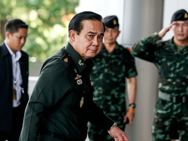 General Prayuth Chan-ocha Say's Thai's Should Be Ashamed of Country's Image