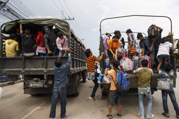 Thailand's Military says No Policy to 'Sweep and Clean' illegal Migrants