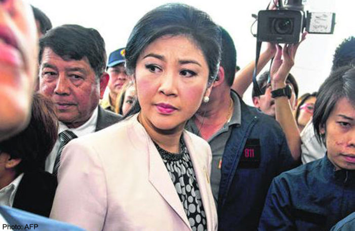 Thai Anti Corruption Agency Finds Yingluck Guilty in Rice Pledging Scheme
