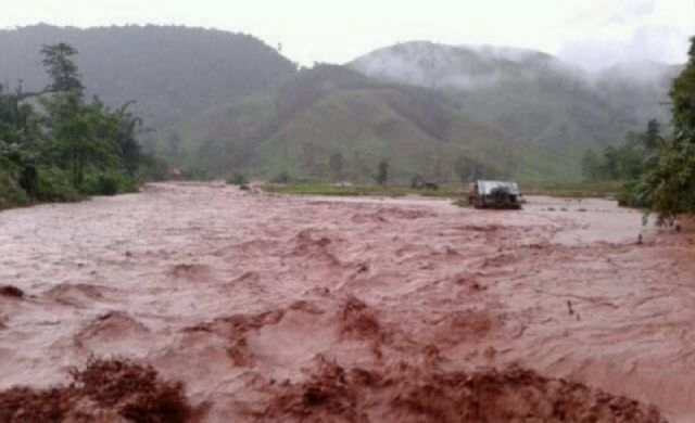 Heavy Rain Causing Flooding in Northern Provinces