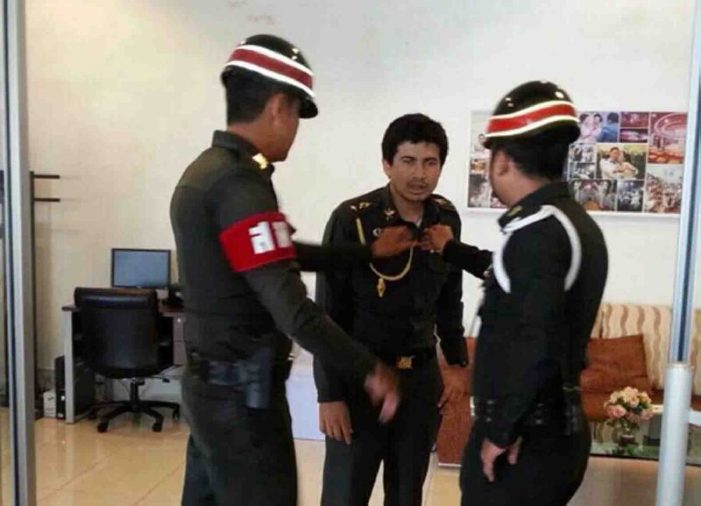 """Thai Man Dressed Up As Army Colonel """"To Impress His Girlfriend"""" Arrested"""