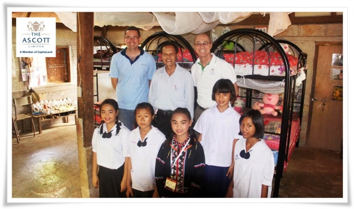 Ascott Organises Humanitarian Trip To Improve The Lives Of Underprivileged Children At Doi Wiengpa Pitaya School In Chiang Rai Province