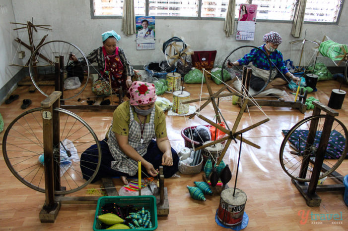 Handicrafts of Chiang Rai's Hill Tribes: Explore the Royal Projects of Doi Tung