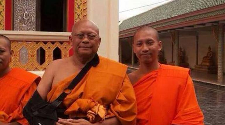 """Mr. Suthep, who is now known by his Buddhist name """"Paphakaro,"""" did not announce his intention to be ordained as a monk. Media reports also indicate that people close to Mr. Suthep were surprised by the sudden move."""